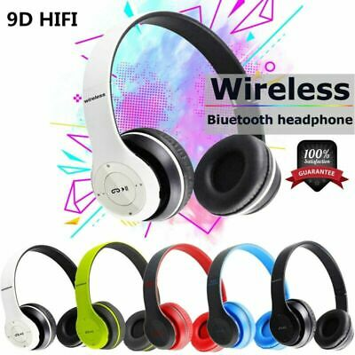 $ CDN13.87 • Buy Bluetooth 5.0 Wireless Headphones Ear Foldable Stereo Noise Cancelling Headset