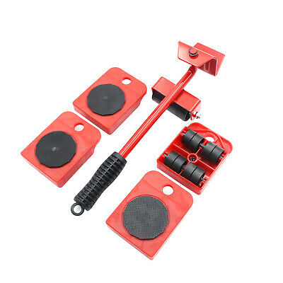 AU19.99 • Buy Furniture Lifter Heavy Roller Move Tool Set Moving Wheel Mover Sliders Kit