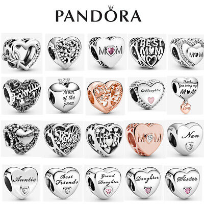ALE S925 Genuine Silver Pandora Mum Family Heart Love Charm With Gift Box • 12.89£