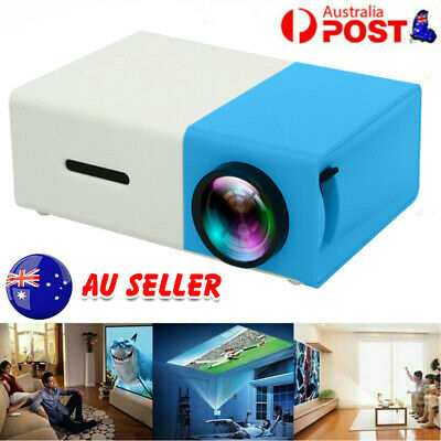 AU52.55 • Buy Mini Portable Pocket Projector HD 1080P LED Home Theater Video Projector HDMI AU