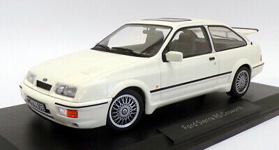 Norev 1/18 Scale Model Car 182771 - 1986 Ford Sierra RS Cosworth  - White • 99.99£