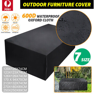AU27.39 • Buy Outdoor Waterproof Furniture Cover Patio Garden Rain Snow UV Table Sofa Couch
