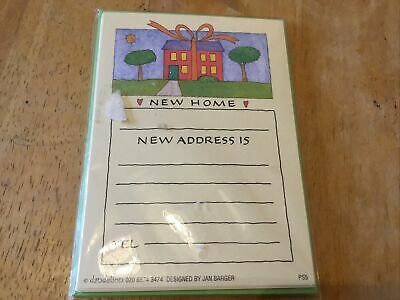 Pack Of 8 New Home Cards With Envelopes Moving House Change Of Address Cards • 1£