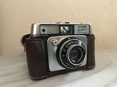 Vintage Ilford Sportsman Camera 35mm With Original Carry Case • 20£