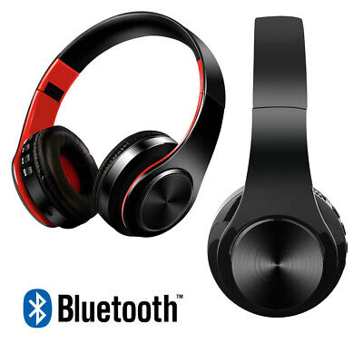 AU21.95 • Buy Noise Cancelling Wireless Headphones Bluetooth 5.0 Earphone Headset With Mic Hot
