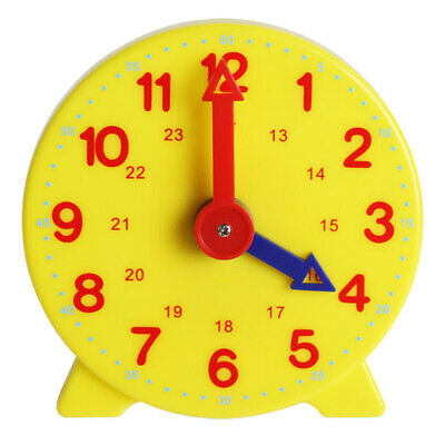 £1.99 • Buy Teaching Clock Child Learning To Tell The Time Boys Girls Educational Game Toy