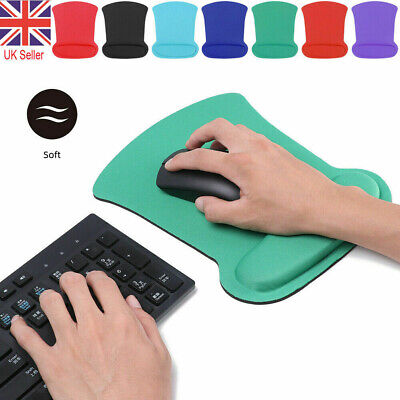 £3.75 • Buy Anti-Slip Mouse Pad Mouse Mat With Foam Wrist Rest Support For PC Macbook Laptop