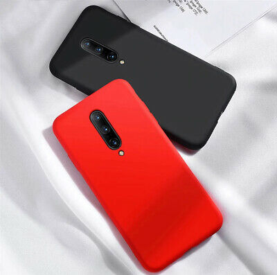 AU7.71 • Buy For OnePlus 8T 7T Pro 6T 5T Original Silicone Shockproof Genuine Back Case Cover