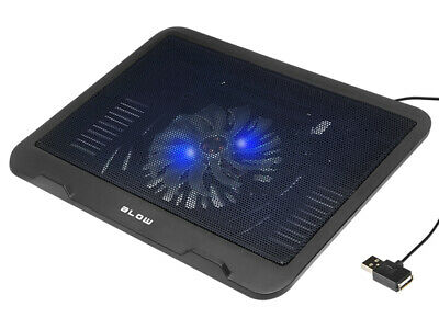 Fan Cooler Laptop Cooling Pad Stand Tray • 11.99£