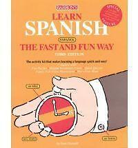 £5.99 • Buy Learn Spanish The Fast And Fun Way By F. Hammitt (Paperback, 2004)