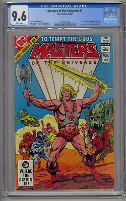 $16.37 • Buy Masters Of The Universe #1 Cgc 9.6 White Pages!!!!