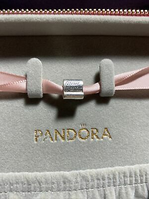 AU9.50 • Buy Authentic Pandora Silver Forever Together Scroll Charm #790513 Retired