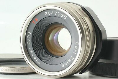 $ CDN505.03 • Buy NEAR MINT In Case Contax Carl Zeiss Planar T* 35mm F2 For G1, G2 From JAPAN F673