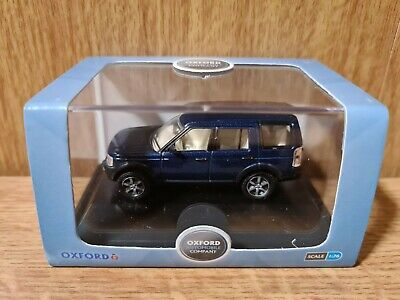 Oxford Diecast 76LRD006 Land Rover Discovery 3 Cairns Blue Metallic • 8.09£