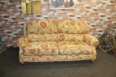 £999 • Buy Parker Knoll Oakham, Henley Large 2 Seater Sofa In Cuba Floral Fabric