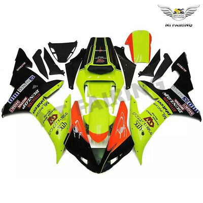 $549.99 • Buy FT Fit For Yamaha R1 YZF 2002-2003 Green Black Injection ABS Fairing Kit H033