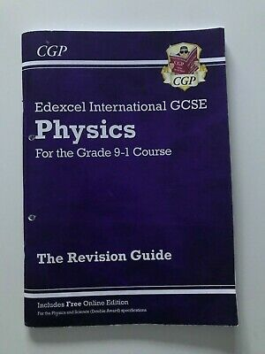 IGCSE Physics Revision Guide (with Online Edition) (1-9 Course) By CGP Books... • 2.07£