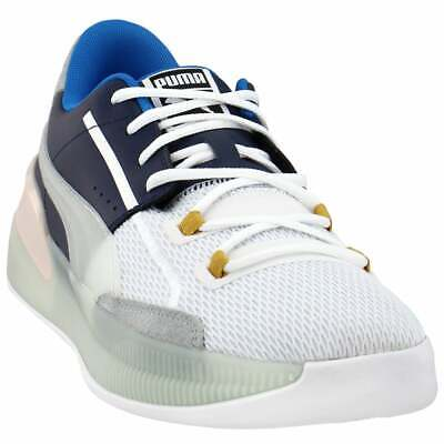 Puma Clyde Hardwood   Mens Basketball Sneakers Shoes Casual   - White • 71.55£