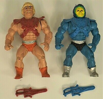 $79.99 • Buy Masters Of The Universe He-man Skeletor Motuko Ko Polish Mexican Bootleg 4  Tall