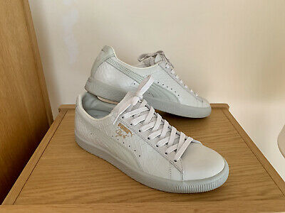 Puma Clyde Dressed In Whisper White, UK 8, Immaculate • 24.99£