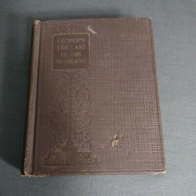 $13 • Buy Macmillan Pocket Classics Cooper's The Last Of The Mohicans1927