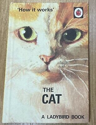 'How It Works' The Cat (2016) The Ladybird Books For Grown-Ups Series • 1£