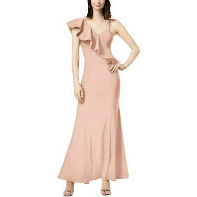 AU27 • Buy Xscape Womens Pink Jersey Special Occasion Party Evening Dress Gown 10  4939