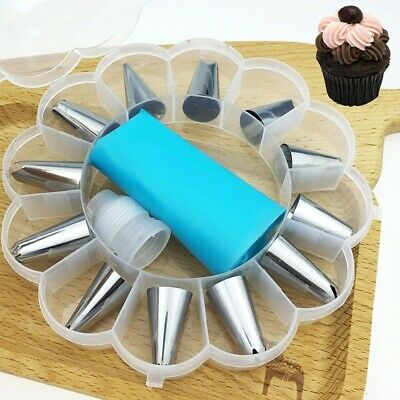£9.20 • Buy Cake Decorating Tools Pipe Icing Nozzles New Baking Stainless Steel Accessories