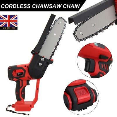 Garden Electric Cordless Chainsaw Chain Saw Cutting Tool For 18V Makita Battery • 58.99£