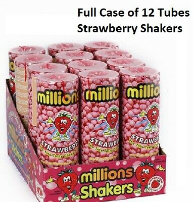 £1.74 • Buy MILLIONS STRAWBERRY FLAVOUR SWEETS SHAKERS WEDDING/PARTY BAG KIDS PICK 'n' MIX
