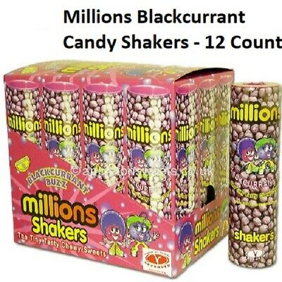 £1.74 • Buy MILLIONS BLACKCURRANT BUZZ FLAVOUR SWEETS SHAKERS WEDDING/PARTY PICK 'n' MIX