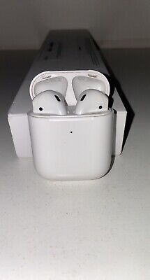 AU60.76 • Buy Apple AirPods 2nd Generation With Charging Case - White