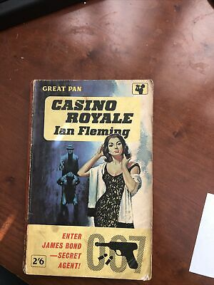 Casino Royale By Ian Fleming- Paperback- 10th Print 1962 • 2£