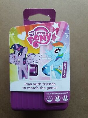 Shuffle.  My Little Pony Children's Travel Card Game. ( 2-4 Players. Aged 5+ ) • 9.99£