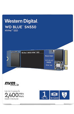 WD SN550 1TB High-Performance M.2 Pcie NVMe SSD - Blue • 68.09£