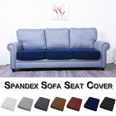 Spandex Stretch Sofa Seat 1-4 Seats Cushion Cover Couch Slipcovers Protector • 8.59£