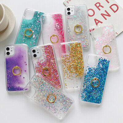 AU12.22 • Buy Luxury Case With Diamond Ring Holder Phone For Iphone 7 8 X XR 11 12 Cases Cover
