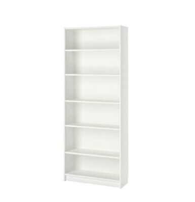 IKEA Billy Tall Bookcase White 6 Shelves • 5£