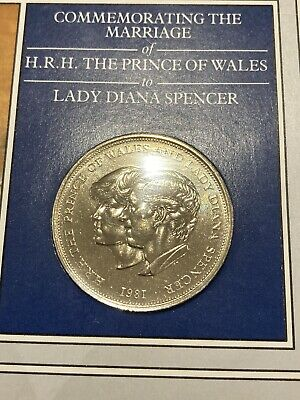 1981 Crown Coin The Royal Wedding Of Prince Charles & Lady Diana Spencer Pack • 3£