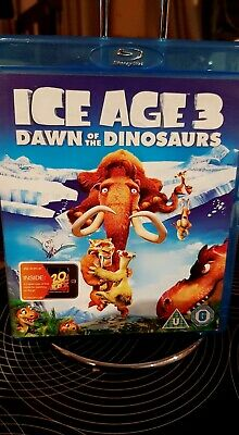 Ice Age 3 Dawn Of The Dinosaurs Blu-Ray • 1.50£