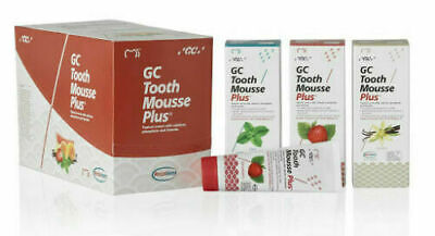 AU25.21 • Buy GC Tooth Mousse Plus For Calcium Phosphate & Fluoride Tooth Treatment 40GM