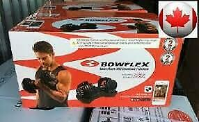 $ CDN511 • Buy Bowflex SelectTech 552 Adjustable Dumbbells (PAIR) New Free Same Day Shipping