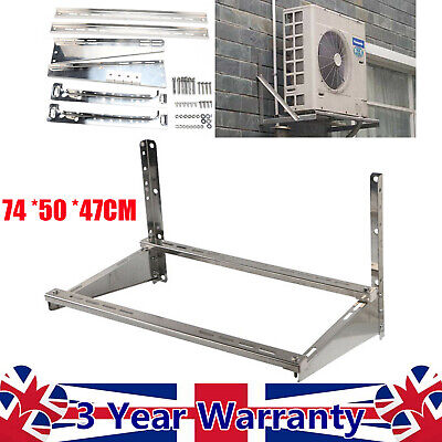 £42.02 • Buy Air Conditioner Wall Mounting Bracket Galvanized Stainless Steel 74 *50 *47CM