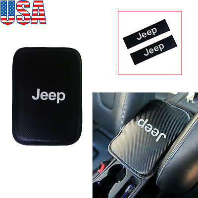 $9.99 • Buy New Car Center Console Armrest Cushion Mat Pad Cover Combo Set US STOCK