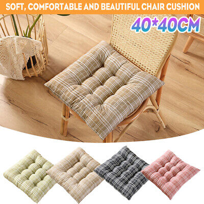 AU15.89 • Buy 40X40cm Chair Seat Cushions Square Soft Pad Mat Dining Garden Patio Home Office