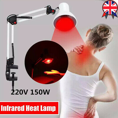 150W Red Light Therapy Lamp LED Infrared Light Device Heat Lamp Relief Skin Pain • 23.98£