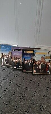 Downtown Abbey Series 1,2,3,4, Dvd Box Set No 4 Is Sealed New, Vgc • 1.80£