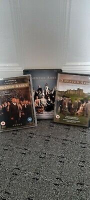 Downtown Abbey 3x Movies, Christmas At, Moorland Hols,the Movie Vgc • 1.40£