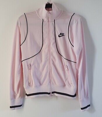 Baby Pink High Neck Zip Up Nike Sports Track Top Jacket Size 10-12 USED EX.CON  • 16.99£