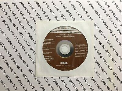 Windows 7 Professional 32 Bit Deutsch Reinstallation DVD Von Dell • 7.31£